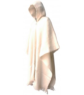 """Western"" Poncho with Hood - Extra large"