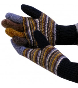 Colorful Gloves - 100% Alpaca wool