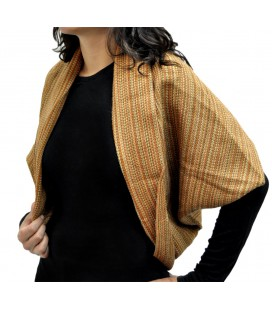 Striped Bolero - Alpaca Wool