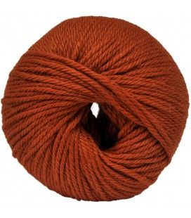 Baby Alpaca Wool - Rusty orange - 50 gr.