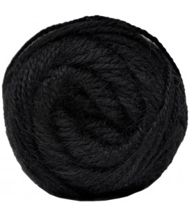 Dyed Black - 100% Alpaca - Medium - 100 gr./ 219 yd.
