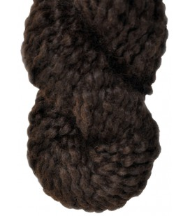 Dark chocolate - 100% Alpaca - Super bulky - 100 gr./ 47 yd.