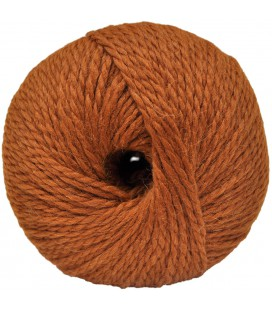 Alpaca and Sheep Wool - Rusty orange - 100 gr.