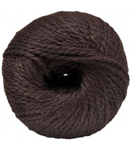Alpaca and Sheep Wool - Brown - 100 gr.