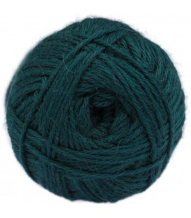 Peacock green - 100% baby llama - Medium - 100 gr./ 218 yd.