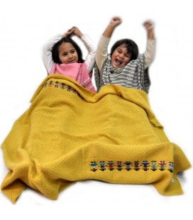 Blanket for kids - 100% Alpaca