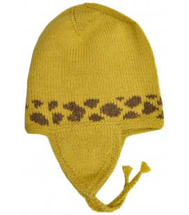 Animals Cap for kids - Alpaca Wool
