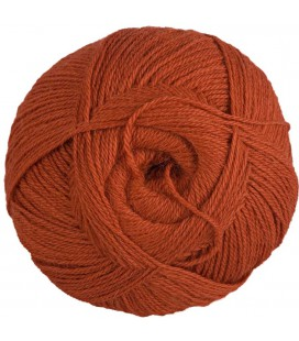 Rusty orange - 100% Alpaca - Fine - 100 gr./ 372 yd.