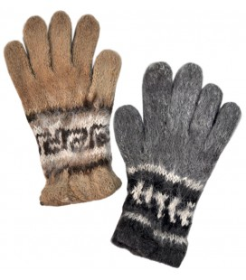 Natural Colors Gloves - Llama and Alpaca
