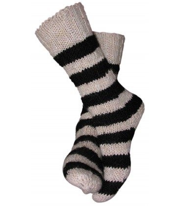Thick wool ski socks