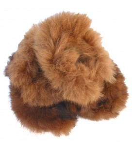 Fur Slippers for Adults - Alpaca Fur