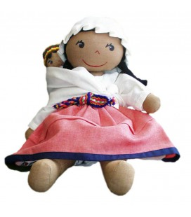 "Pilincha Doll ""Imilla mommy"" - 27 cm."