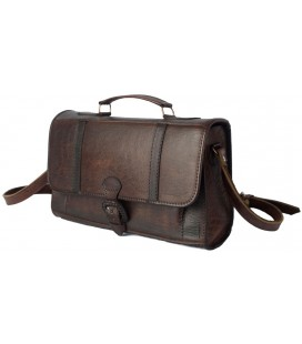 """Little briefcase"" Purse - Genuine Leather"