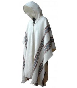 "Poncho ""Illimani"" with Hood - Large size"