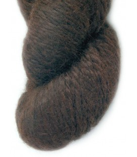 Dark chocolate - 100% Alpaca - Bulky - 100 gr./ 120 yd.