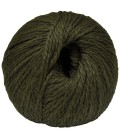 Alpaca and Sheep Wool - Khaki green - 100 gr.