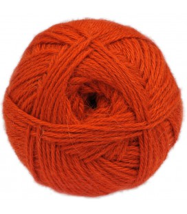 Orange - 100% baby llama - Medium - 100 gr./ 218 yd.