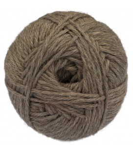 Light chestnut - Baby llama/Merino wool - Bulky - 100 gr./178 yd.