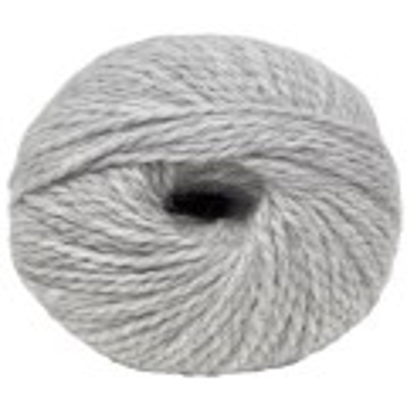 Light grey - Alpaca/wool - Bulky - 100 gr./ 191 yd.