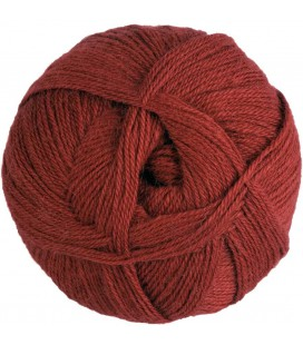 Pure Alpaca Wool - Terracotta Red - 100 gr.