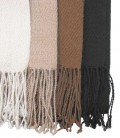 Raw white, Beige, Brown, Black