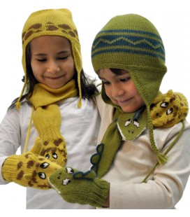"""Animals"" set for kids - Alpaca Wool"