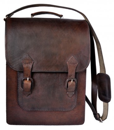Vertical Briefcase - Genuine leather
